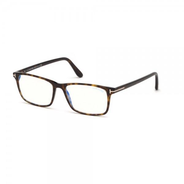 occhiali-da-vista-tom-ford-ft5584-b-052-56-16-145-uomo-avana-scuro-lenti-blu-protect