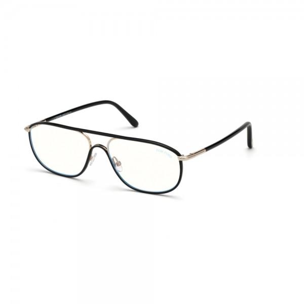 occhiali-da-vista-tom-ford-ft5624-b-001-58-15-145-uomo-nero-lucido-lenti-blu-protect