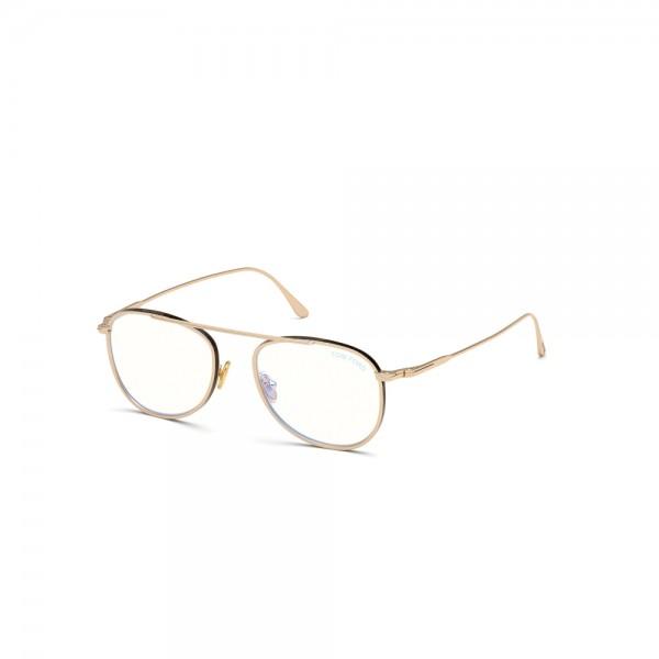 occhiali-da-vista-tom-ford-ft5691-b-028-52-18-145-oro-rose-lucido-lenti-blu-protect