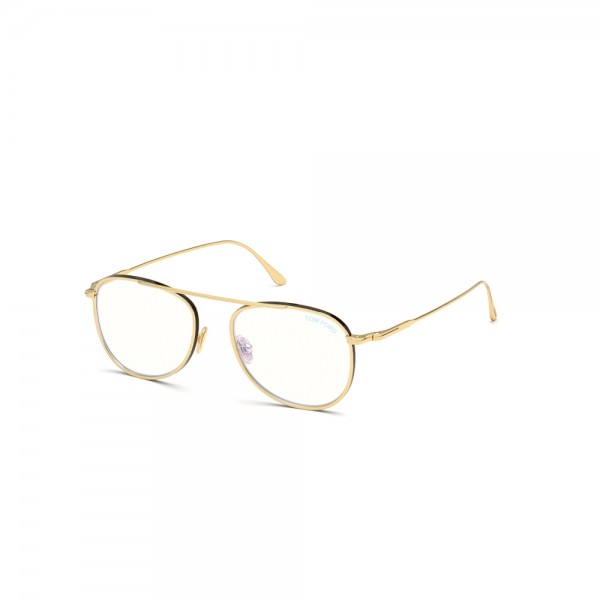 occhiali-da-vista-tom-ford-ft5691-b-030-52-18-145-oro-lucido-lenti-blu-protect