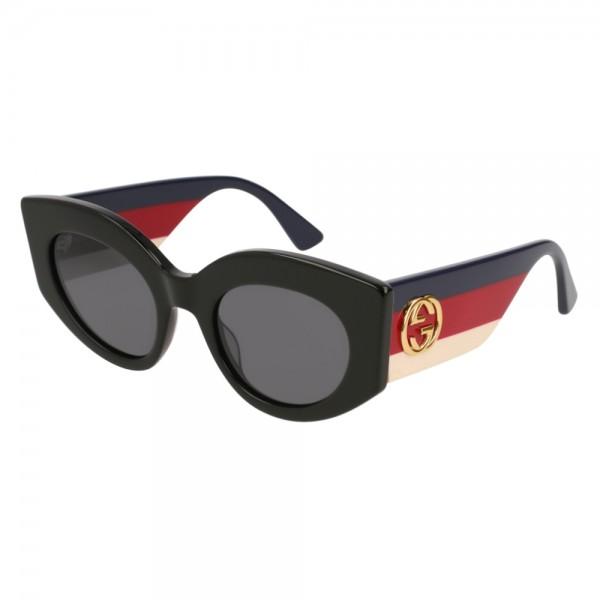 occhiali-da-sole-gucci-gg0275s-001-50-22-145-donna-grey-lenti-black