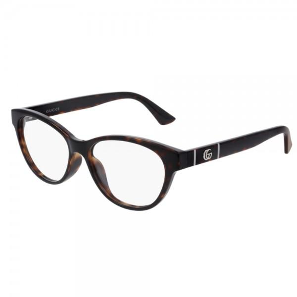 occhiali-da-vista-gucci-gg0766oa-002-54-15-145-donna-havana