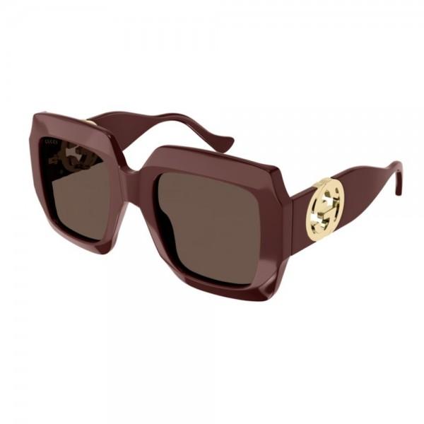 occhiali-da-sole-gucci-gg1022s-002-54-23-140-donna-brown-lenti-grey-brown