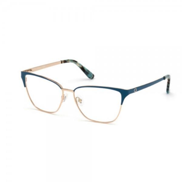 occhiali-da-vista-guess-gu2795-087-54-14-140-donna-turchese-lucido