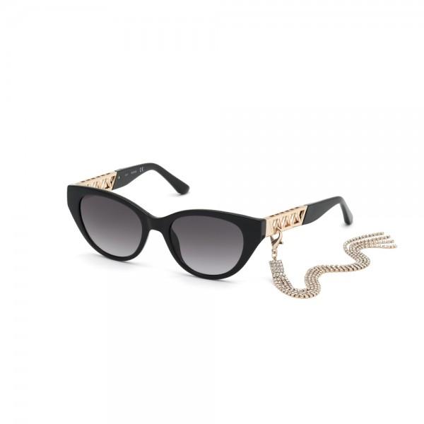 occhiali-da-sole-guess-gu7690-01b-52-19-145-donna-nero-lucido-lenti-fumo-gradient