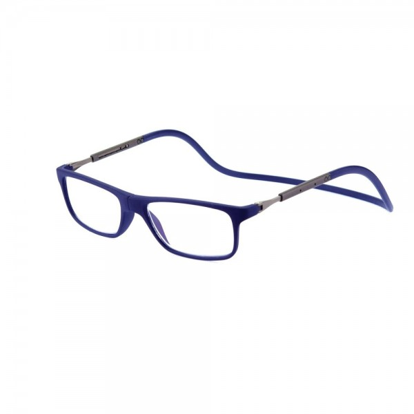 scarpe di separazione 5e6fd 4c11b occhiali da lettura jabba magnetico stile clic con Custodia Morbida aste  regolabili lenti antiriflesso diottria da +1,00 a +3,50
