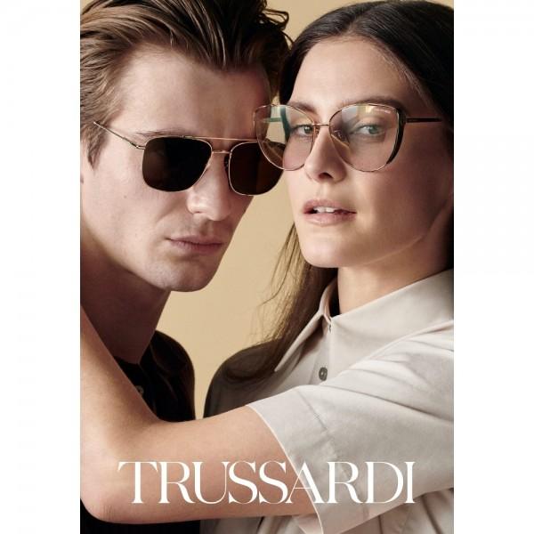 occhiali-da-sole-trussardi-str478-0722-55-19-135-donna-avana-scura-lucida-lenti-brown-gradient