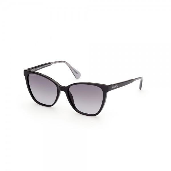 occhiali-da-sole-max-co-mo0011-01b-56-16-145-donna-nero-lucido-lenti-fumo-gradient