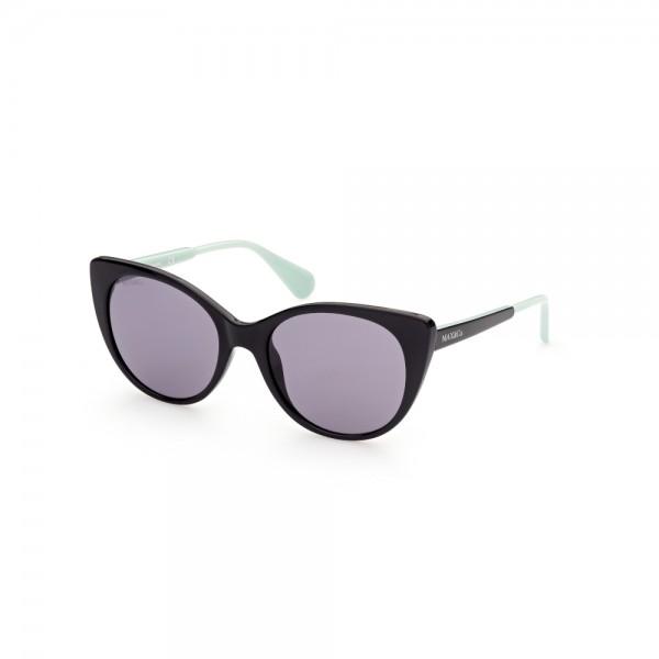occhiali-da-sole-max-co-mo0021-01a-56-19-140-donna-nero-lucido-lenti-fumo