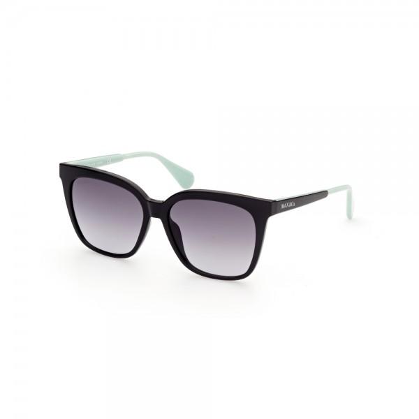 occhiali-da-sole-max-co-mo0022-01b-56-15-140-donna-nero-lucido-lenti-fumo-gradient