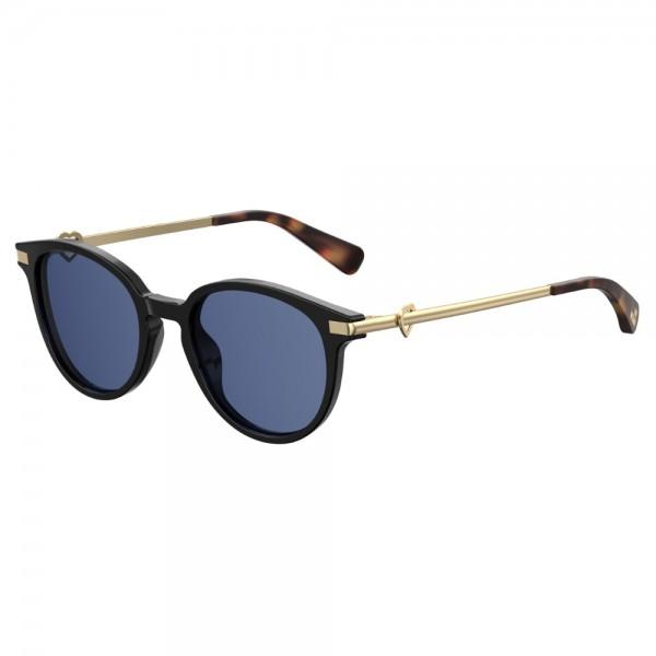 occhiali-da-sole-love-moschino-donna-nero-lucido-lenti-blu-mol008-s-807-51-20-140