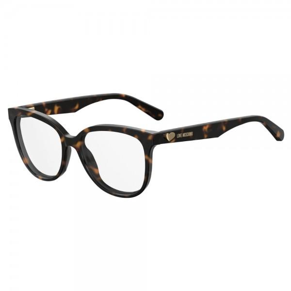 occhiali-da-vista-love-moschino-donna-dark-havana-mol509-086-54-16-140