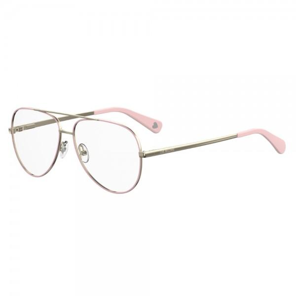 lussureggiante nel design miglior posto per nuova collezione Occhiali da Vista love moschino donna pink MOL531 35J 56-13-140