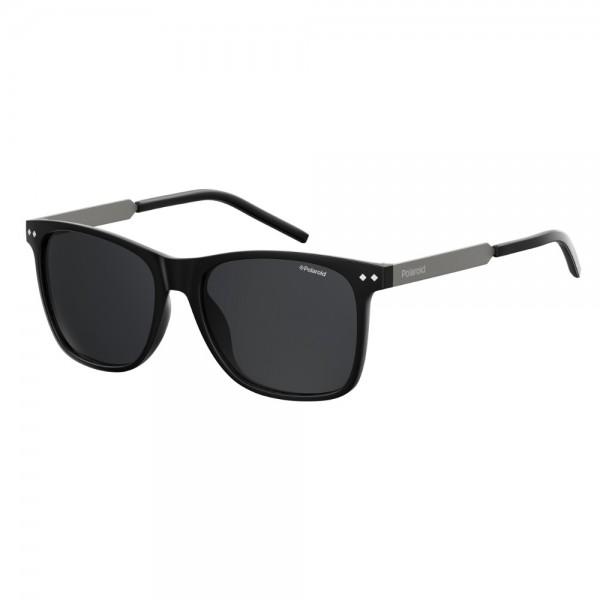occhiali-da-sole-polaroid-unisex-nero-opaco-lenti-grigio-polarizzato-pld1028-003-m9-55-17-140