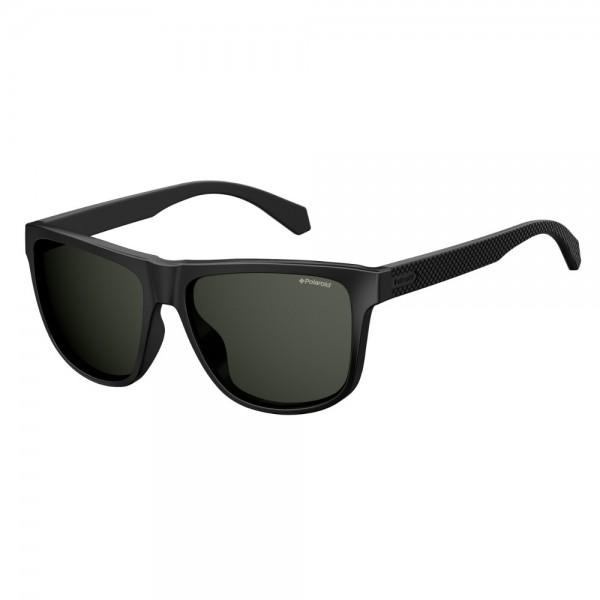 occhiali-da-sole-polaroid-unisex-nero-opaco-lenti-grigio-polarizzato-pld2057-003-m9-57-16-145
