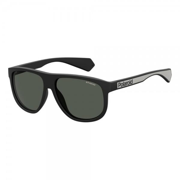 occhiali-da-sole-polaroid-pdl2080-003-58-14-140-unisex-nero-opaco-lenti-grigio-polarizzato