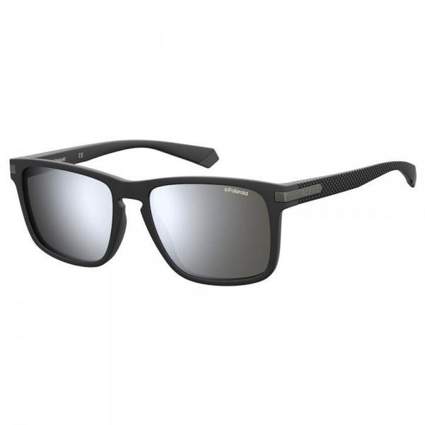 occhiali-da-sole-polaroid-pld2088-003-55-18-140-unisex-matt-black-lenti-grey-silver-mirror-polarizzato