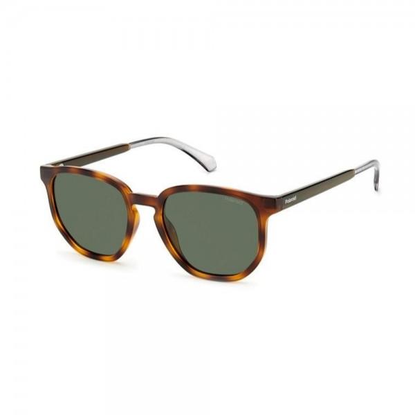 occhiali-da-sole-polaroid-pld2095-s-086-53-20-145-unisex-avana-scuro-lenti-green-polarizzato