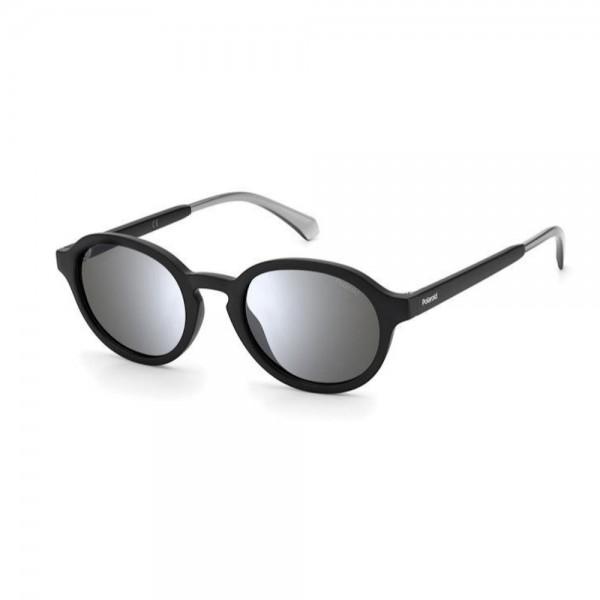 occhiali-da-sole-polaroid-pld2097-s-003-50-22-145-unisex-nero-matt-lenti-grey-silver-flash-polarizzato