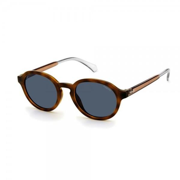 occhiali-da-sole-polaroid-pld2097-s-086-50-22-145-unisex-avana-scuro-lenti-grey-polarizzato