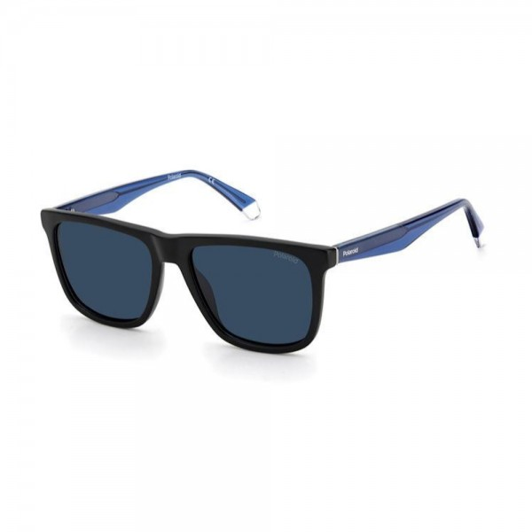 occhiali-da-sole-polaroid-pld2102-s-x-0vk-55-17-150-unisex-nero-matt-blu-lenti-grey-polarizzato