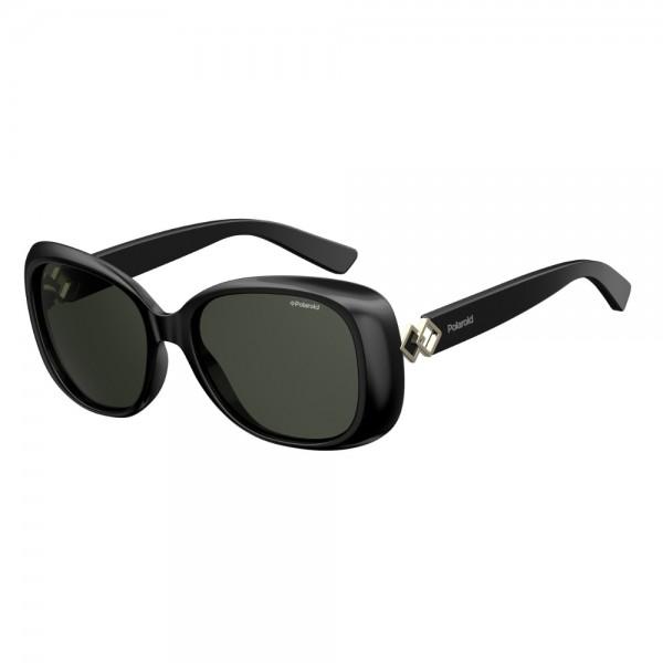 occhiali-da-sole-polaroid-donna-nero-lucido-lenti-grigio-polarizzato-pld4051-807-m9-55-17-140