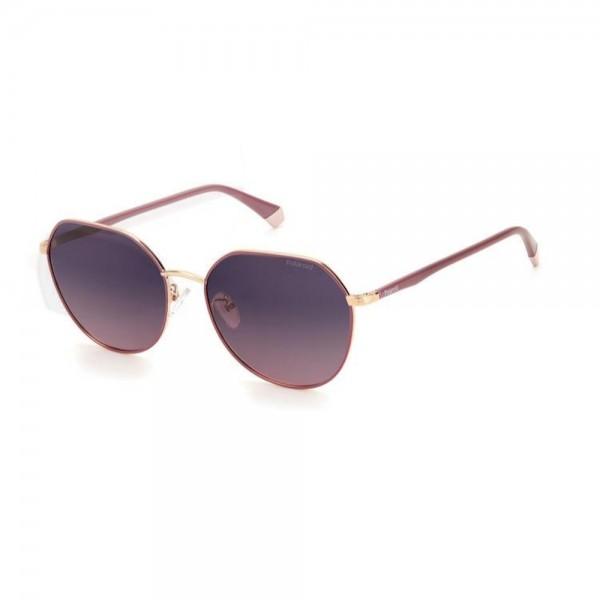 occhiali-da-sole-polaroid-pld4106-g-s-yk9-59-17-150-donna-bordeaux-oro-ramato-lenti-violet-gradient-polarizzato