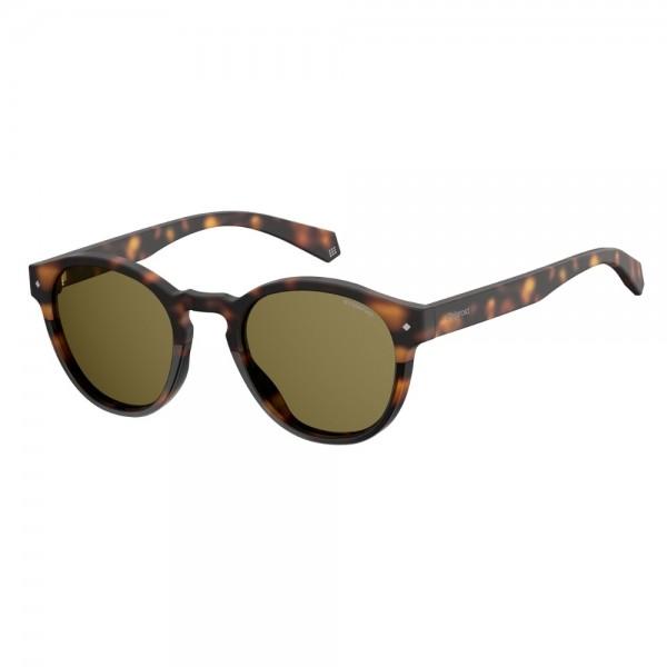 occhiali-da-sole-polaroid-unisex-avana-scuro-lenti-brown-polarizzate-pld6042-086-sp-49-22-145