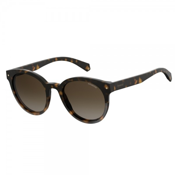 occhiali-da-sole-polaroid-donna-avana-scuro-lenti-brown-sfumato-polarizzato-pld6043-086-la-51-20-145