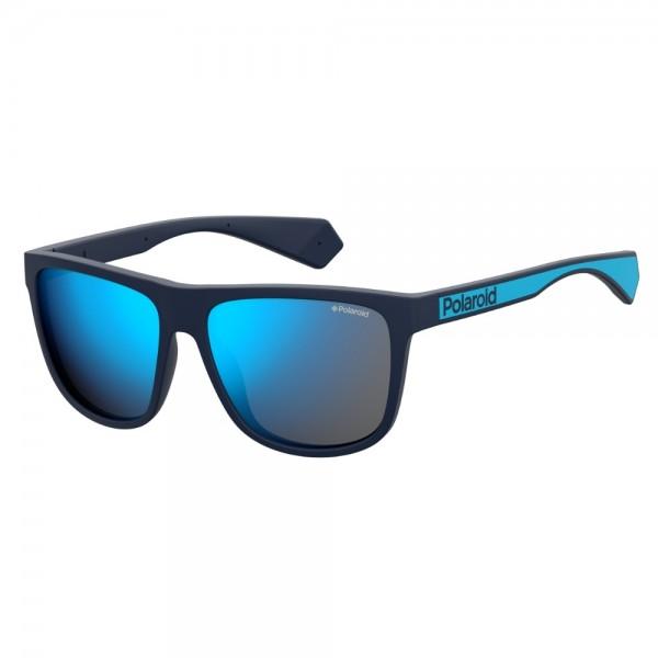 occhiali-da-sole-polaroid-pdl6062-pjp-57-16-140-unisex-blu-lenti-blu-specchiato-polarizzato