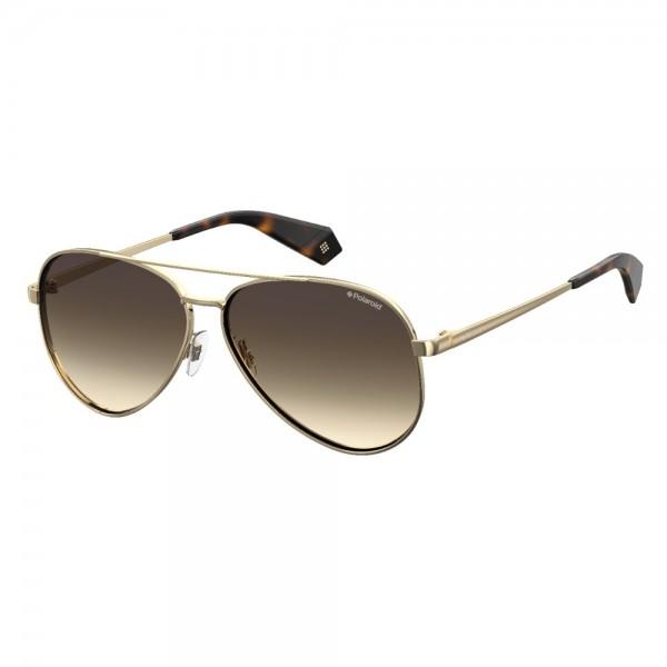 occhiali-da-sole-polaroid-pdl6069-j5g-61-12-140-unisex-oro-giallo-lenti-marrone-sfumato-polarizzato