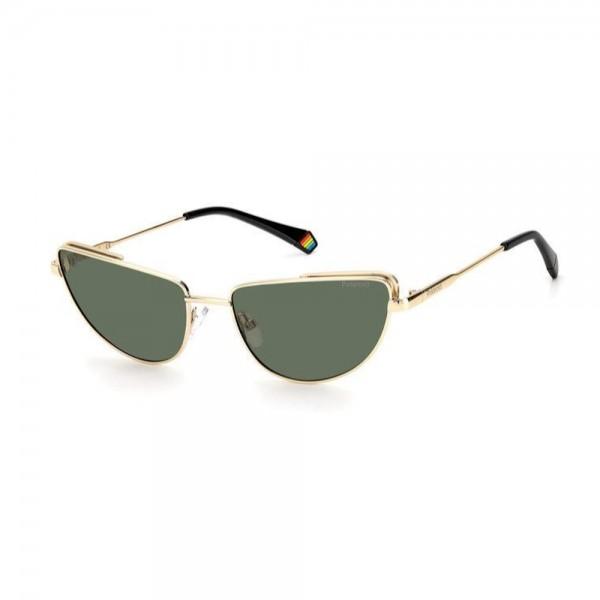 occhiali-da-sole-polaroid-pld6129-s-pef-57-17-145-donna-oro-lenti-verde-polarizzato