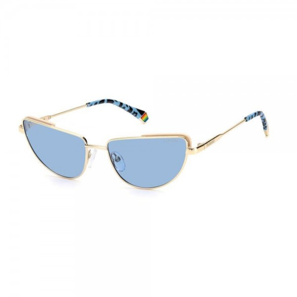 occhiali-da-sole-polaroid-pld6129-s-r80-57-17-145-donna-oro-matt-lenti-azzurro-polarizzato