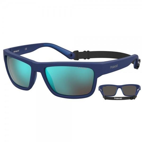 occhiali-da-sole-polaroid-pld7031-pjp-59-17-140-unisex-blu-lenti-blu-mirror-polarizzato