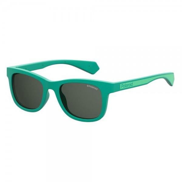 occhiali-da-sole-polaroid-pld8031-1ed-46-18-130-junior-green-lenti-grigio-polarizzato