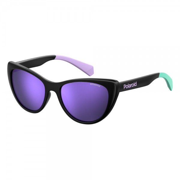 occhiali-da-sole-polaroid-pld8032-807-49-16-125-junior-nero-lenti-viola-specchiato-polarizzato