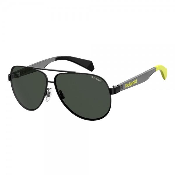 occhiali-da-sole-polaroid-pld8034-807-55-9-130-junior-nero-lenti-grigio-polarizzato