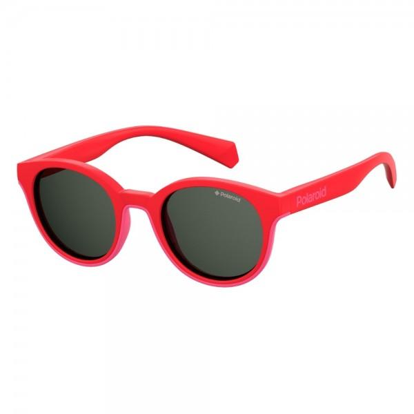 occhiali-da-sole-polaroid-pld8036-1n5-42-19-125-junior-corallo-lenti-grigio-polarizzato