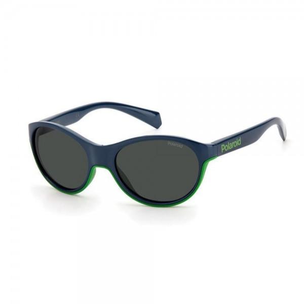 occhiali-da-sole-polaroid-pld8042-s-rnb-49-16-125-junior-verde-lenti-grey-polarizzato