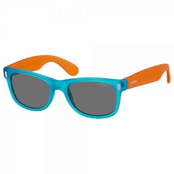 occhiali-da-sole-polaroid-po115-89t-46-16-130-junior-blu-orange-lenti-grigio-polarizzato