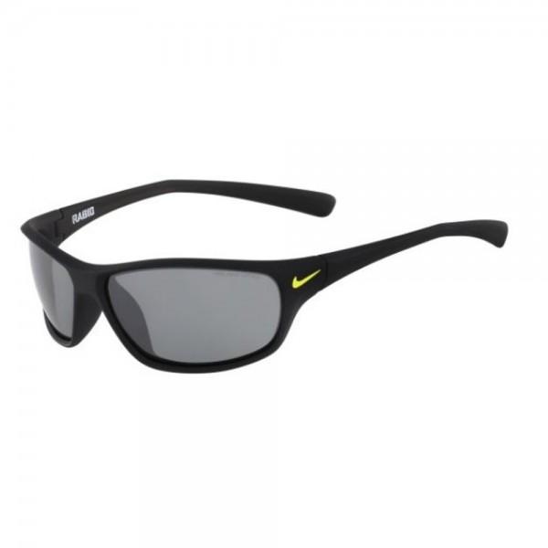 occhiali-da-sole-nike-rabid-unisex-matte-black-lenti-silver-flash-ev0603-007-63-14-140