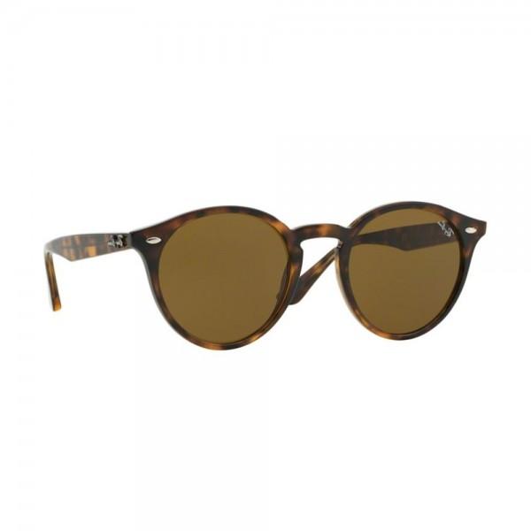 occhiali-da-sole-ray-ban-unisex-shiny-dark-havana-lenti-brown-0rb2180-710-73-49-21-145