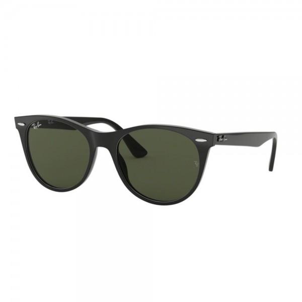 occhiali-da-sole-ray-ban-unisex-black-lenti-g-15-rb2185-901-31-52-18-145