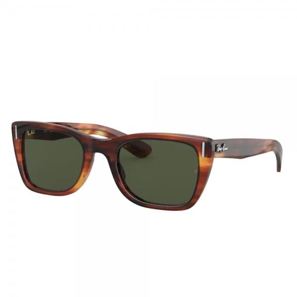 occhiali-da-sole-ray-ban-rb2248-954-31-52-22-145-donna-havana-lenti-g-15-green