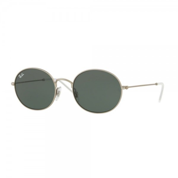occhiali-da-sole-ray-ban-unisex-rubber-rilver-lenti-dark-green-rb3594-911671-53-20-145