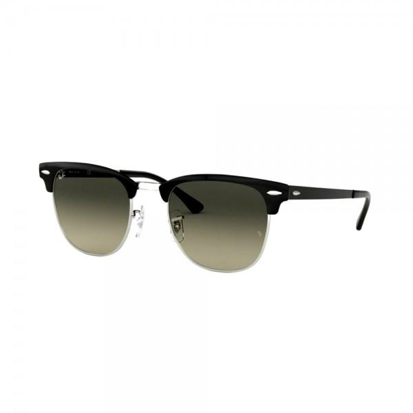 occhiali-da-sole-ray-ban-unisex-silver-top-black-lenti-light-grey-gradient-dark-grey-rb3716-900471-51-21-145