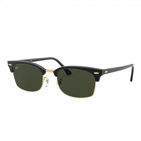 occhiali-da-sole-ray-ban-rb3916-130331-52-21-145-unisex-black-lenti-g-15-green