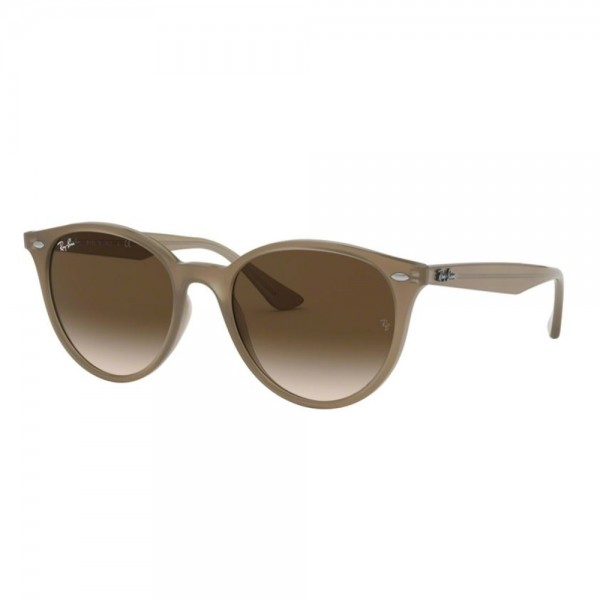 occhiali-da-sole-ray-ban-rb4305-616613-53-19-145-unisex-marrone-chiaro-lenti-brown-gradient-dark-brown