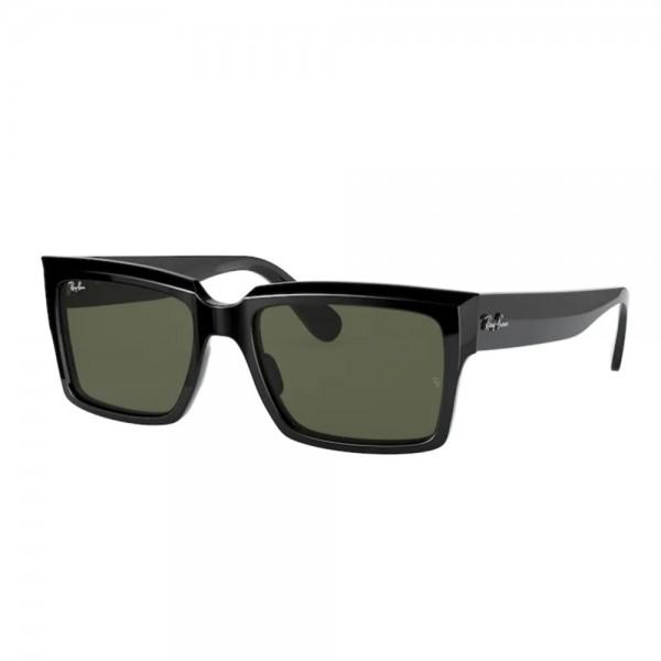 occhiali-da-sole-ray-ban-rb2191-901-31-54-18-145-unisex-black-lenti-green