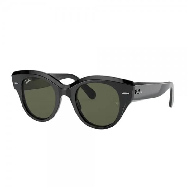 occhiali-da-sole-ray-ban-rb2192-901-31-47-22-145-donna-black-lenti-green